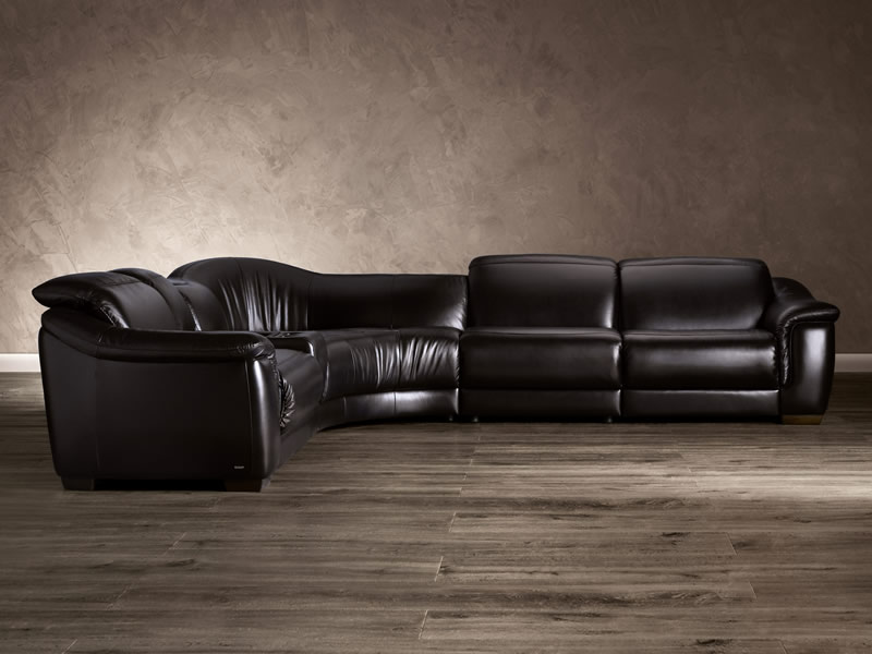 Natuzzi B-641 Leather Sectional