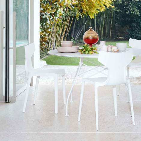 Re-Chair Dining Chair(2 pieces), Kartell Italy