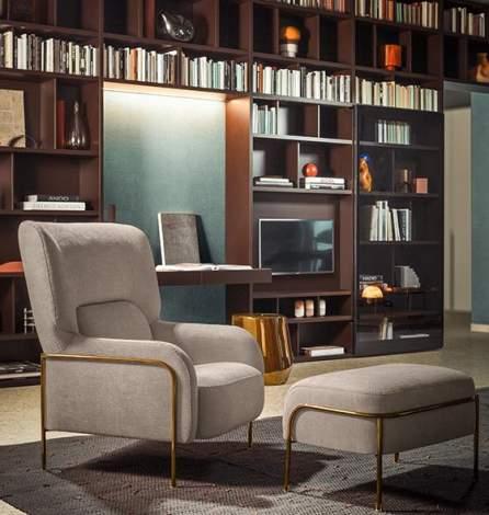 Platea Lounge Armchair, Pianca Italy