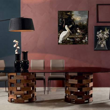 Big Colosseo Dining Table, Tonin Casa