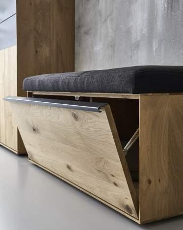 Runa Wardrobe Bench 3125, Planum Furniture Italy