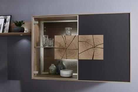 Caya Wall Unit 4135/4136, Planum Furniture Italy