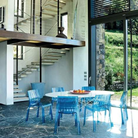 Frilly Chair (2 pieces), Kartell Italy