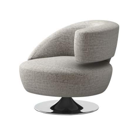 Isabella Swivel Chair, Weiman