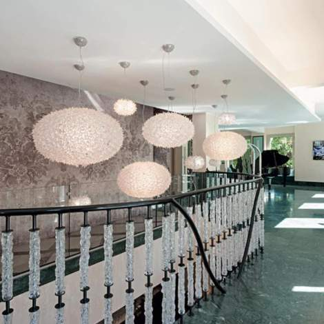 Bloom Small Suspension Lamp, Kartell Italy