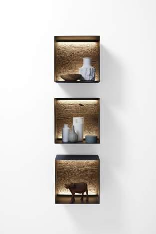 Vara Wall Hanging Rack, Planum Furniture Italy