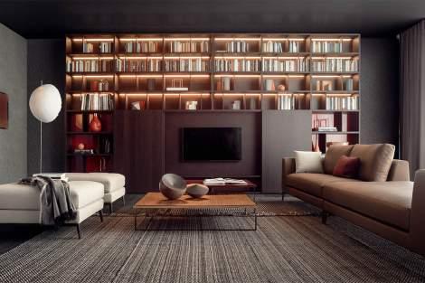 Spazioteca Bookcase, Pianca Italy
