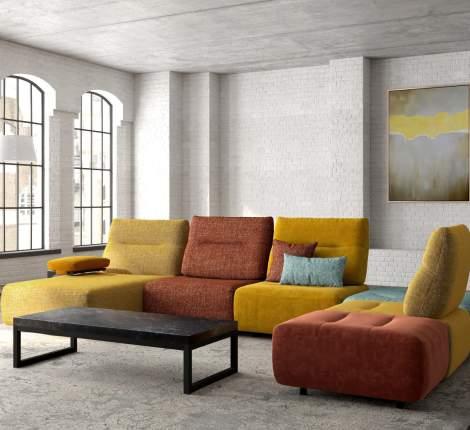 Vegas Sectional Sofa, ROM Belgium