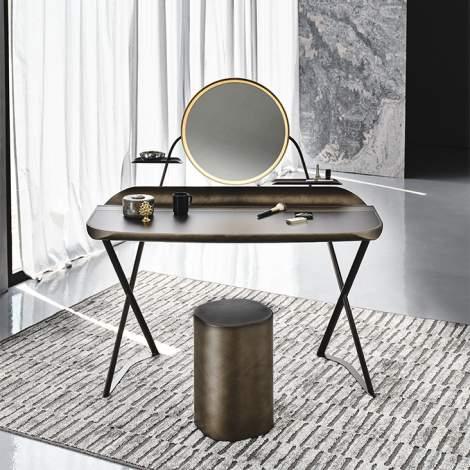 Cocoon Trousse Leather Desk, Cattelan Italia