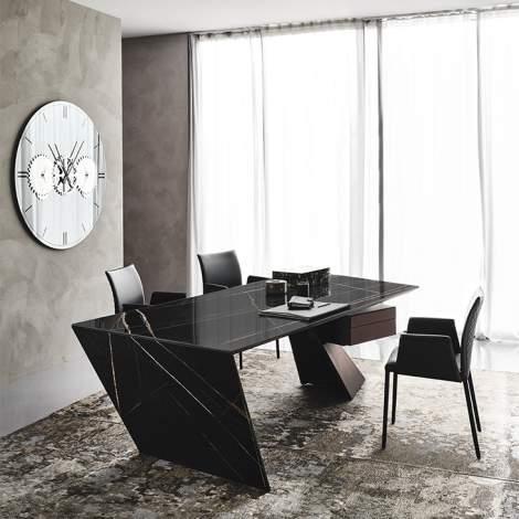 Nasdaq Keramik Office Desk, Cattelan Italia