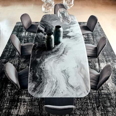 Stratos Crystalart Dining Table, Cattelan Italia