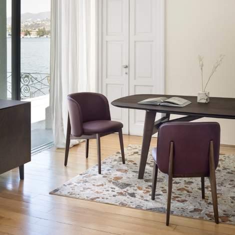CS/2041 Abrey Dining Chairs, Calligaris Italy