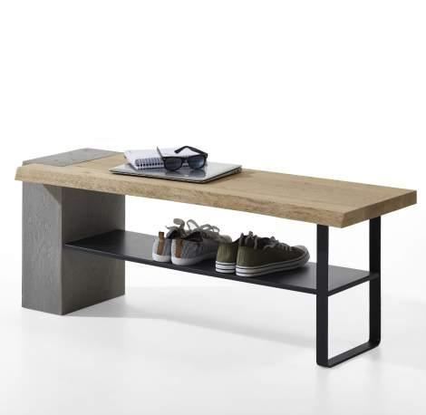 Brik Wardrobe Bench 3128, Planum Furniture Italy