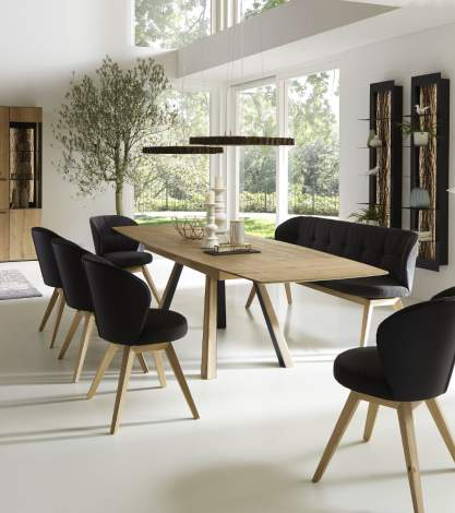 Runa Head Extension Dining Table, Planum Furniture Italy