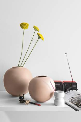 CS/7119 Holly Ceramic Vase, Calligaris Italy