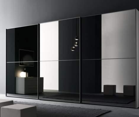 L12 Wardrobe With Sliding Door, Presotto Italy