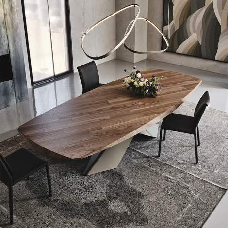 Tyron Wood Table, Cattelan Italia