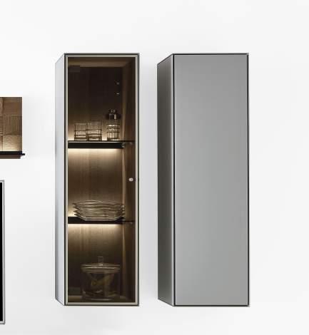 Liv Wall Cabinet 6031G/6032G, Planum Furniture Italy