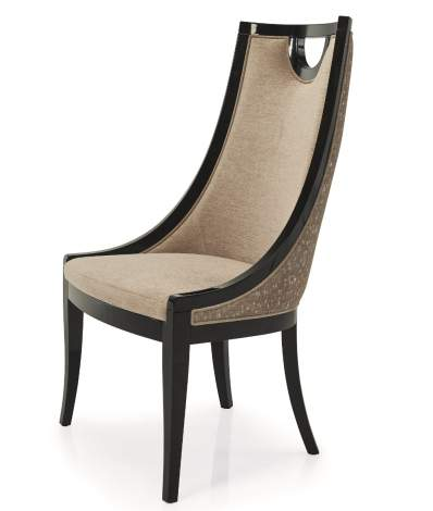 Carlotta Chair with Key Hole Back, Planum Furniture Italy