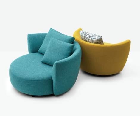 Pie Swivel Chair, Dellarobbia