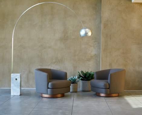 Tina Swivel Chair, Dellarobbia