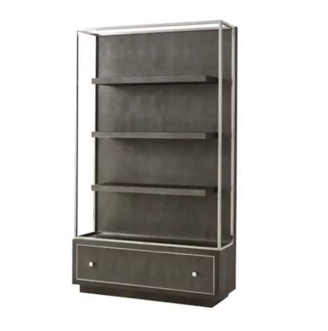 Wesson Open Bookcase, Theodore Alexander