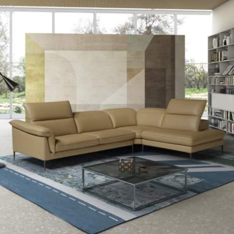 Eden Premium Leather Sectional
