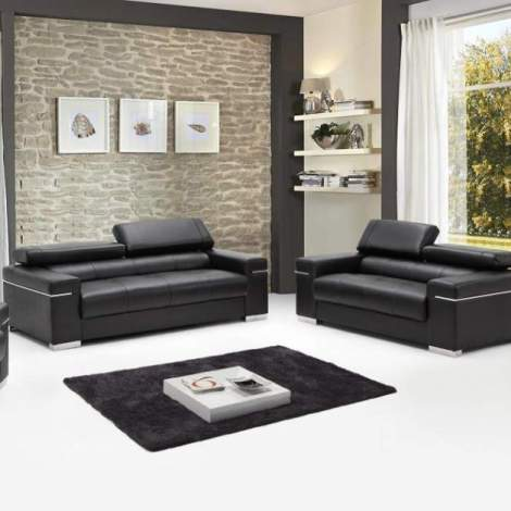 Soho Leather Sofa