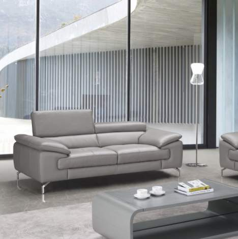 Liam Premium Leather Sofa