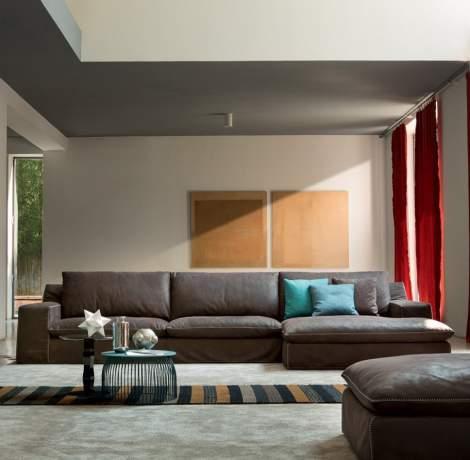Theo Modern Sofa-Sectional, Alberta Italy