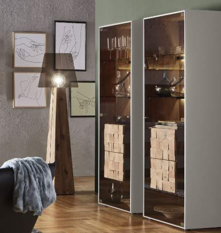 Liv Display Cabinet 0061G/0062G, Planum Furniture Italy