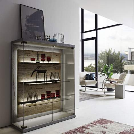 Brik Highboard 7111, Planum Furniture Italy
