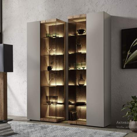 Vara Display Cabinet 0071T/0072T, Planum Furniture Italy