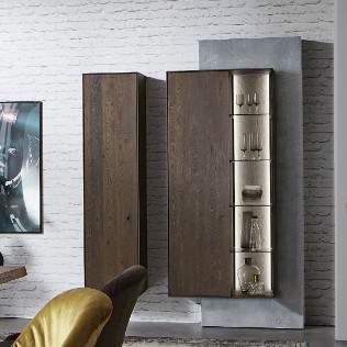Brik Display Cabinet 0091/0092, Planum Furniture Italy
