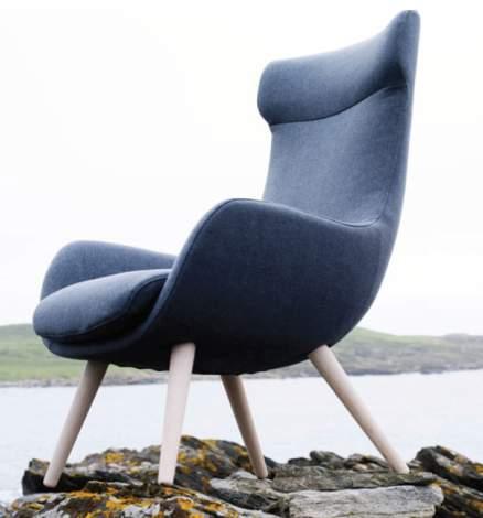 Fjords Skagen Chair & Footstool