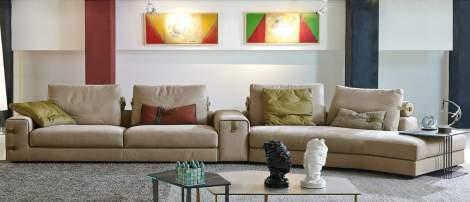 Gregory Sectional Sofa, Gamma Arredamenti Italy