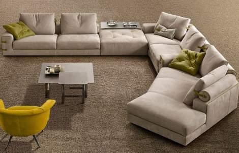 Gregory XL Sectional Sofa,Gamma Arredamenti Italy
