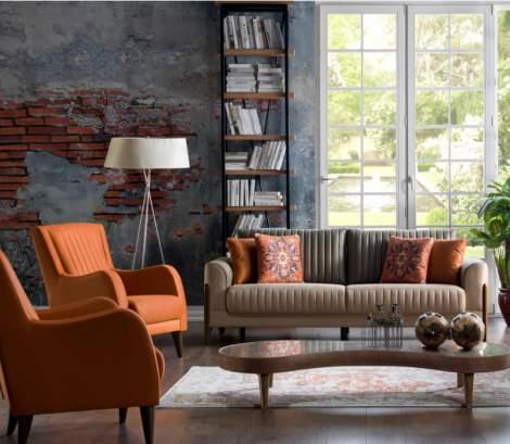 Piero Hande Beige Sleeper Sofa