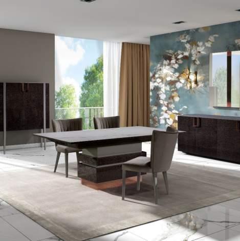 Portobello Rectangular Extension Dining Table, Planum Furniture Italy