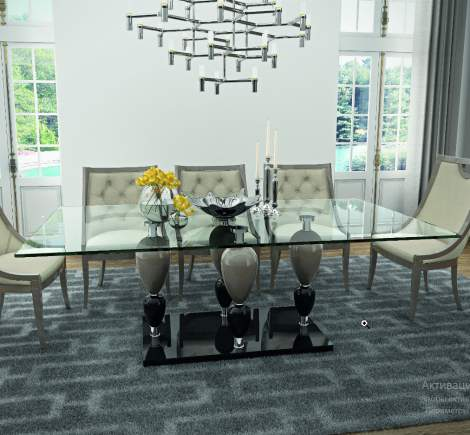 Imperador Small Rectangular Dining Table, Planum Furniture Italy