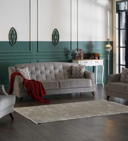 Siena Valencia Gray Sleeper Sofa
