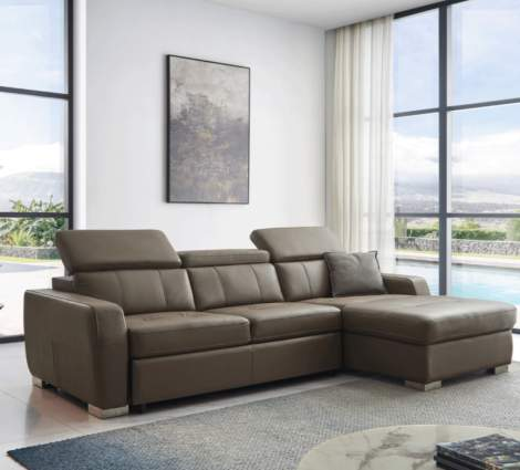 1822 Sectional w/Bed, ESF