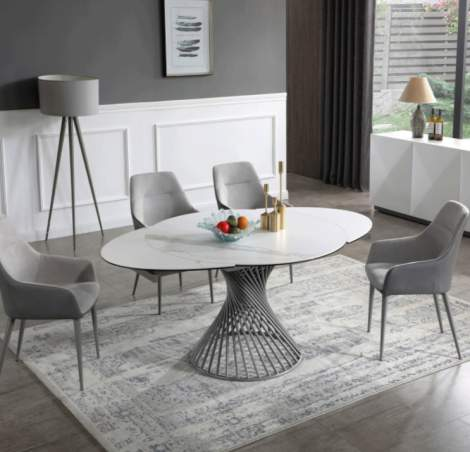 9034 Dining Marble Table, ESF