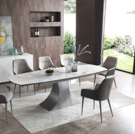 9035 Marble Dining Table, ESF