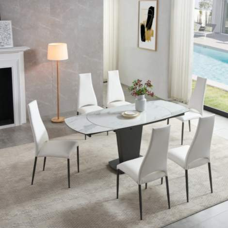 2417 Marble Dining Table, ESF