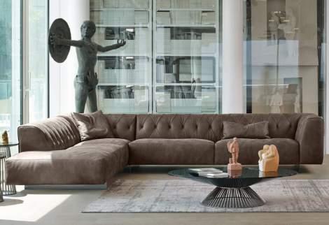 Marlon Corner Sectional Sofa, Gamma Arredamenti Italy