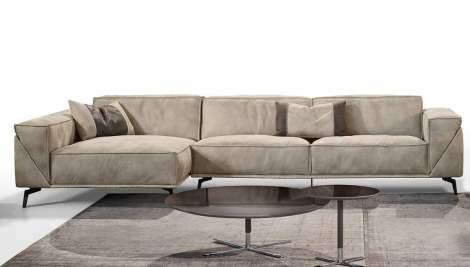 Edwin Sectional Sofa, Gamma Arredamenti Italy