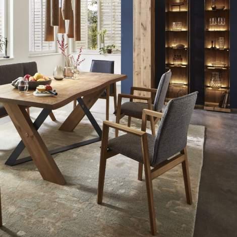 Vara Nuri Wooden Arm Chair, Planum Furniture Italy