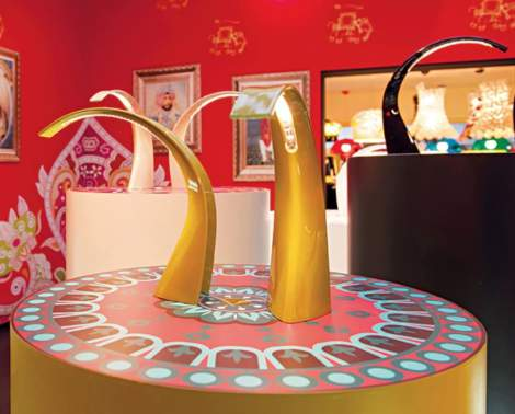 Taj Mini Table Lamp, Kartell Italy