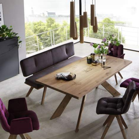 Caya Fixed Top Dining Table, Planum Furniture Italy